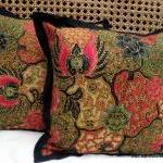 Balinese Batik Pillow/Cushion Cover..