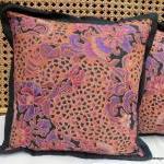 Balinese Batik Pillow / Cushion Cov..