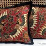 Balinese Batik Pillow / Cushion Cov..